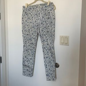 Madewell limited edition floral jean.